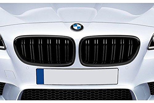 colore Set di 2 griglie sportive frontali Nero opaco 1134055