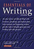 img - for Essentials of Writing by Vincent F. Hopper (2000-10-01) book / textbook / text book