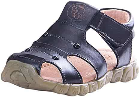 ae853b308e68 Tortor 1Bacha Kid Boys  Leather Closed Toe Outdoor Fisherman Sandal