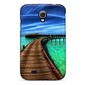 Hard Plastic Galaxy S4 Case Back Cover,hot Beach Front Case At Perfect Diy