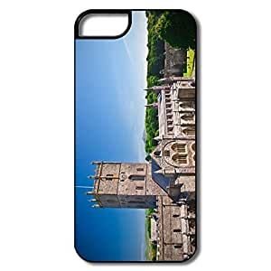 IPhone 5 Cases, St Davids Cathedral Covers For IPhone 5/5S - White/black Hard Plastic