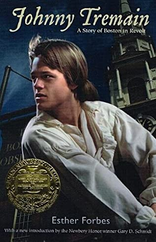 book cover of Johnny Tremain