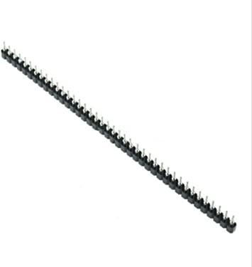 Strip Tin PCB Female IC Breakable 40pin Single Row Round Header Socket