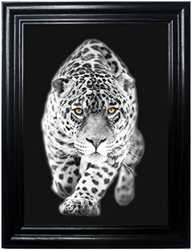 BIG CATS FRAMED Holographic Wall Art-POSTERS That FLIP and CHANGE images-Lenticular