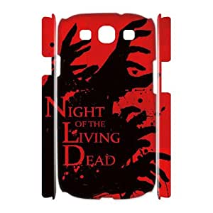 WJHSSB Customized Night of the Living Dead Phone 3D Case For Samsung Galaxy S3 I9300 [Pattern-1]