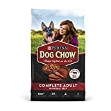 Purina Dog Chow Complete With Real Beef Adult Dry Dog Food - 52 lb. Bag
