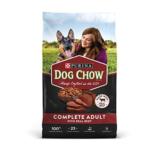 Purina Dog Chow Complete With Real Beef Adult Dry Dog Food – 52 lb. Bag