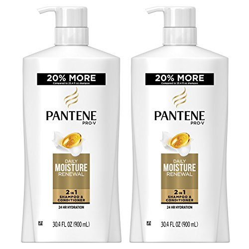 Pantene, Shampoo and Conditioner 2 in 1, Pro-V Daily Moistur