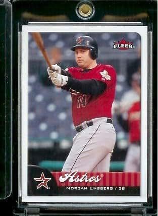 2007 Topps Gold Houston Astros Baseball Card #172 Morgan Ensberg//2007