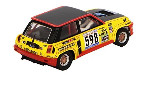 Scalextric Original Renault 5 Turbo, vehículo (Fabrica de Juguetes A10198S300): Amazon.es: Juguetes y juegos