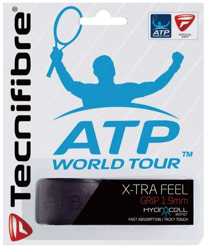 - Tecnifibre X-Tra Feel Replacement Tennis Grip (Black)