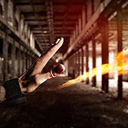 PYRO Mini Fireshooter by Ellusionist - Shoot REAL FIRE from your empty hands like a SUPERHERO - Featured in Gizmodo & Maxim- USB Rechargeable, Safe & Reliable, Flash Device Worn Like a Watch