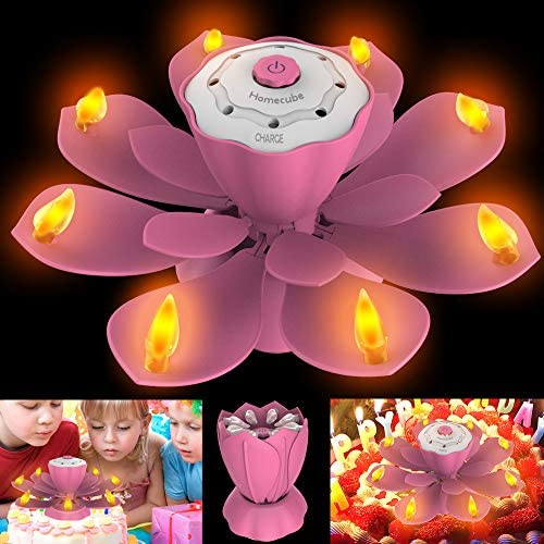 Flameless Flickering Adjustable Rotatable Decoration product image