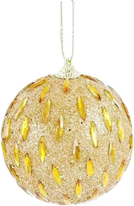 Christmas Rhinestone Glitter Foam Ball Festival Party Xmas Tree Ornament Unique