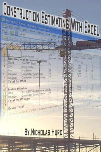 Construction Estimating with Excel (Construction Managment by Litening Software) (Construction Estimating Program)