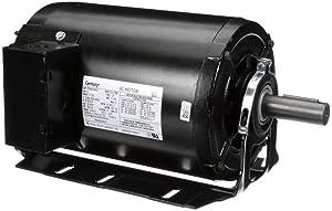 Century AO Smith RB3204AV1 3-Phase Resilient Motor, 2 HP, 1725 RPM, 208-230, 460V, 56HZ Frame