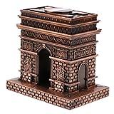 #6: D DOLITY Vintage France Metal Arc De Triomphe Miniature Model, Kids Birthday Souvenir Ornament