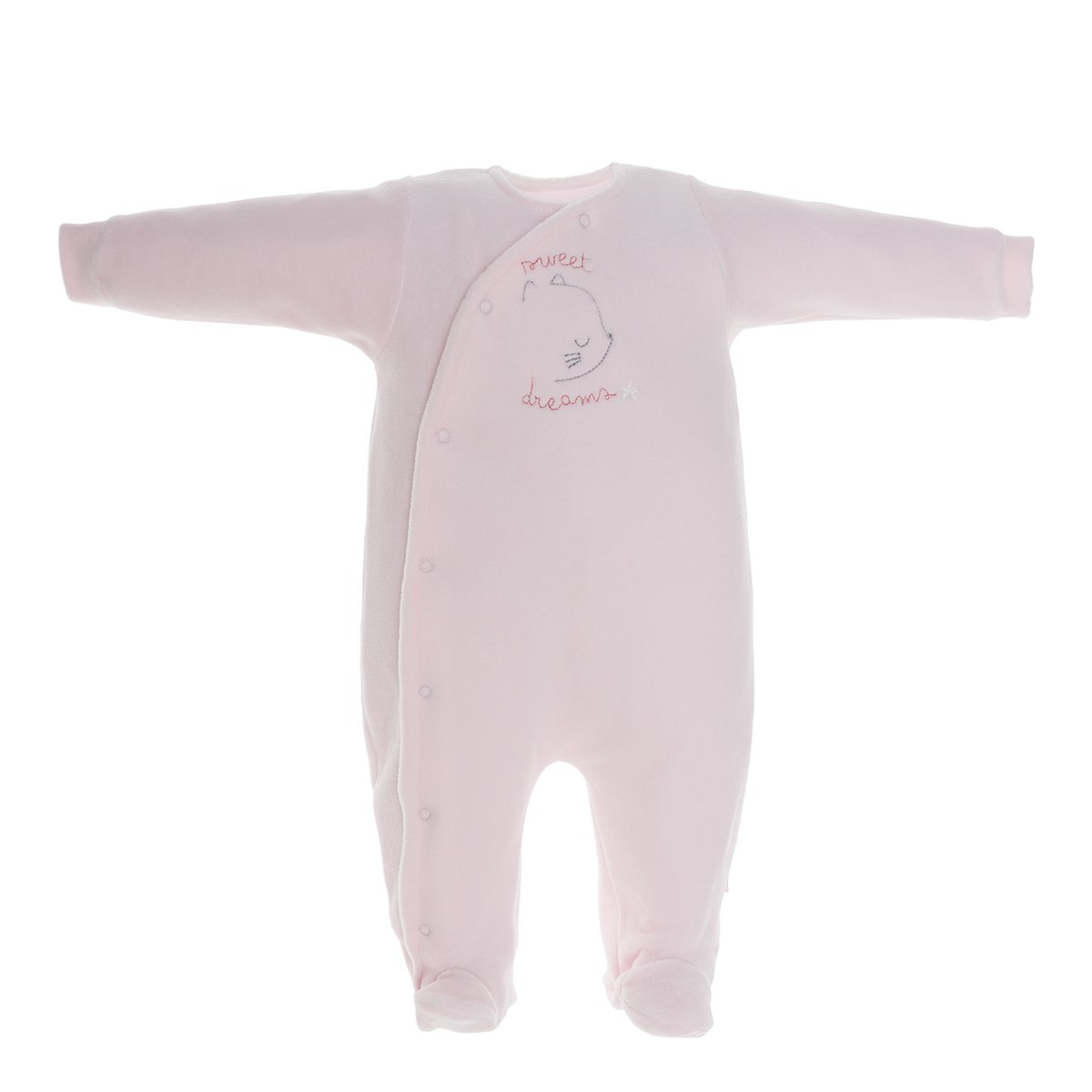 Cambrass 37127 Grenouill/ère Neonato B/éb/é Fille Taille Fabricant: 0 Rose Rosa 3