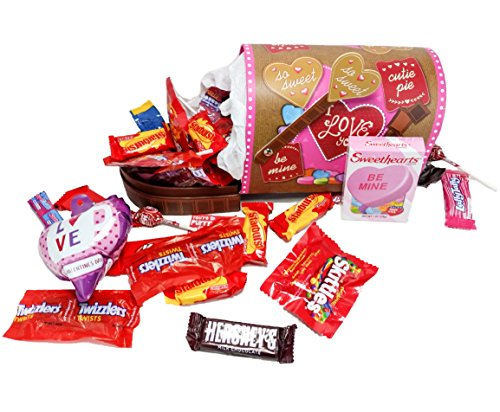 Be My Valentine ~ Fun Valentines Day Themed Mailboxes ~ Filled with Assorted Treats (Medium)