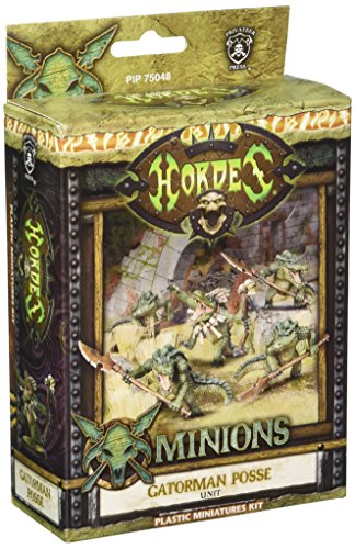 Privateer Press - Hordes - Minion: Gatormen Posse Model Kit 3