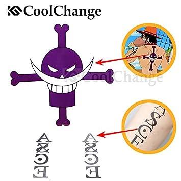 Cool Change One Piece tatuaje temporal etiqueta arco para Puma D ...