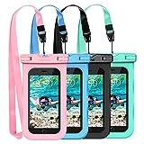 Mpow Waterproof Case,Mpow Universal Dirtproof Shockproof Snowproof Pouch Waterproof Case Bag for iPhone 7/7 Plus/6s / Plus / 6 / 5s / 5 / 5c, Samsung Galaxy S7 / S6 Edge / S5 / Note 4/3 / 2