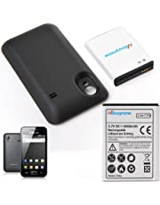 """Funda Batería iPhone XR, Mbuynow 3600mAh 2 en 1 Batería Externa Recargable Funda de Carga Protector Cargador Power Bank Caso para iPhone XR 6.1""""(Negro)"""