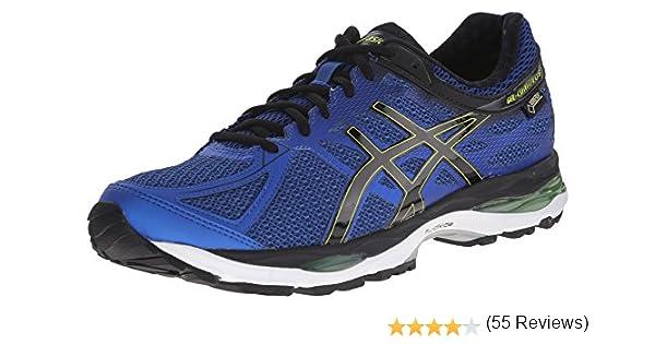 ASICS Gel-Cumulus 17 G TX Tenis para Correr para Hombre, Azul (Mosaic Blue/Black/Lime Punch), 42 EU: Amazon.es: Zapatos y complementos