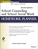 img - for School Counseling and School Social Work Homework Planner by Knapp, Sarah Edison (2013) Paperback book / textbook / text book