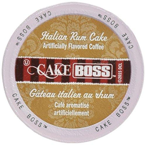 - Cake Boss Coffee, Italian Rum Cake, 24 Count