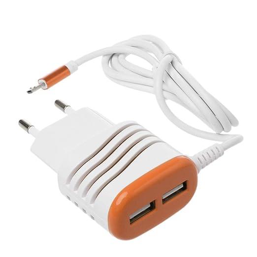 JENOR Adaptador De Cargador De CA De Pared Cable Micro USB ...