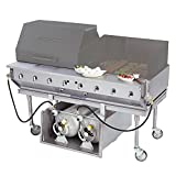 Bakers Pride CBBQ-60S-CP 60″ Ultimate Outdoor Gas Charbroiler with Tank Caddy and Grill Cover Accessories Review
