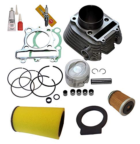 CYLINDER PISTON GASKET TOP END KIT SET FOR YAMAHA BEAR TRACKER 250 1999 2000 2001 2002 2003 - Bear Big Piston