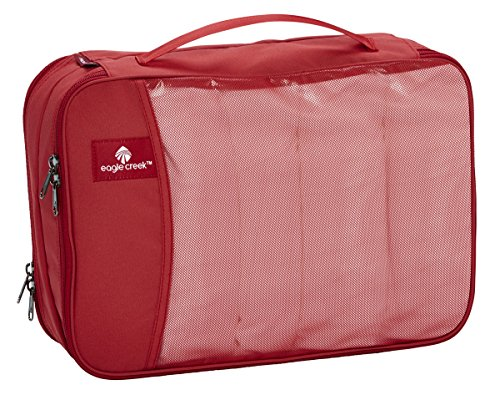 Eagle Creek Travel Gear Luggage Pack-it Clean Dirty Cube, Red Fire