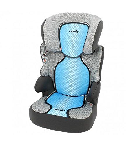 Silla de coche Grupo 2/3 (15-36kg) - Fabricación 100% Francesa - 3 estrellas Test ADAC/TCS - 4 coloridos - Reposa Cabeza y asiento Tapizado, acolchado y ajustable.: Amazon.es: Bebé