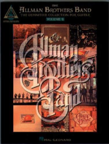 The Allman Brothers Band - The Definitive Collection for Guitar - Volume 2 (Guitar Recorded Versions S)