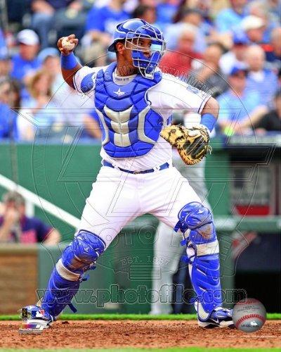 Salvador Perez Kansas City Royals 2013 MLB Action Photo 8x10 - Perez Photograph