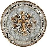 "Carson 10″ Resin ""Treasured Memory"" Garden Stone Plaque"