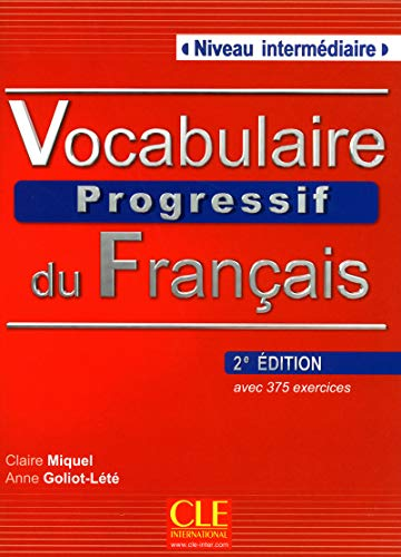 Vocabulaire Progressif du Francais - Nouvelle Edition Livre + Audio CD (Niveau Intermedaire)  [Claire Miquel] (Tapa Blanda)