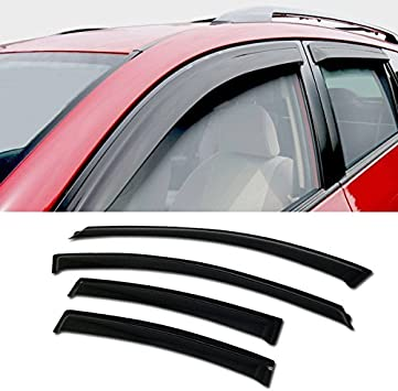 for Chevrolet Cruze Sedan 2011-2014 Car Window Visors Rain Guard Vent Visor Side Wind Deflector Smoke Vent Shade Accessories Tape-On Mount 4Pcs