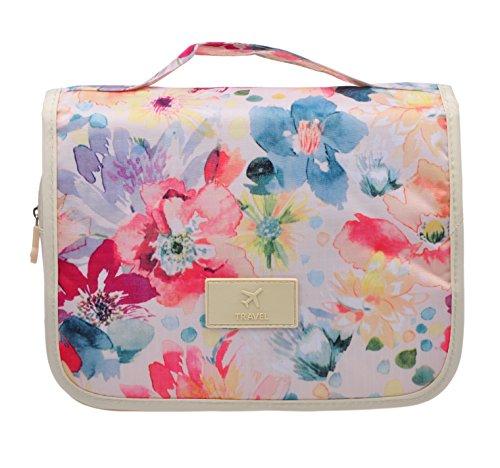 Cosmetic Makeup Bag Case, Hanging Toiletry Bag, Travel Organizer Travel Kit For Women Men