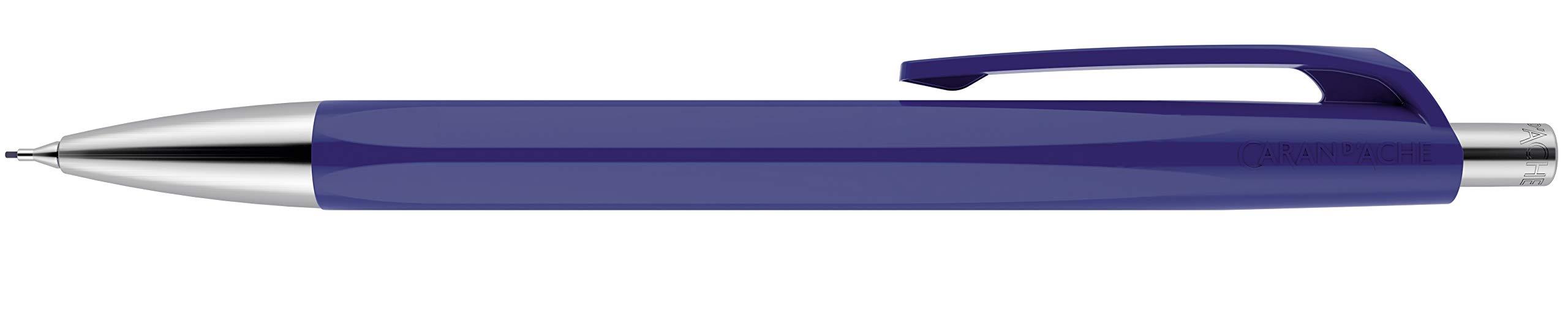 CARAN DACHE 888 Lápiz Mecánico Infinito - Azul Noche