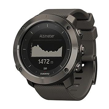 Suunto Traverse Amber Gray Case/Amber Silicone Strap GPS Watches - Black by Suunto: Amazon.es: Electrónica