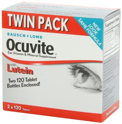Bausch + Lomb Ocuvite Eye Vitamin & Mineral Supplement with Lutein - 240 Tablets (Pack of 3) by Bausch & Lomb (Image #7)