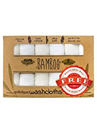 Bamboo Baby Soft Organic Washcloth Towels for Babies BOBEBE Online Baby Store From New York to Miami and Los Angeles