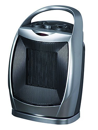 Homeleader HL200C3H Oscillating Ceramic Portable Electric Sp