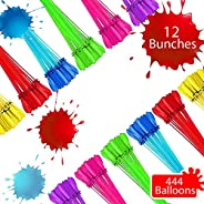 Tiny Balier Water Balloons 440 Balloons Easy Quick Fill for Splash Fun Kids and Adults Pool Party with in 60 S