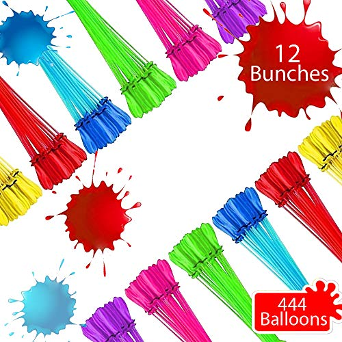 🥇 Tiny Balier Water Balloons Easy Quick Fill in 60 Seconds for Splash Fun Kids and Adults Party
