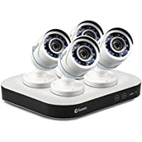 SwannSWDSK-8500T4U-US OneSmart 8 Channel 1080p Digital Video Recorder Home Security System w 4 x 720p PRO-T845 Bullet Cameras