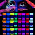 'XXL Set' 24 Cans of UV Body Paint by neon nights | Black Light Make-Up Bodypainting Neon Blacklight Bodypaint Face Paints